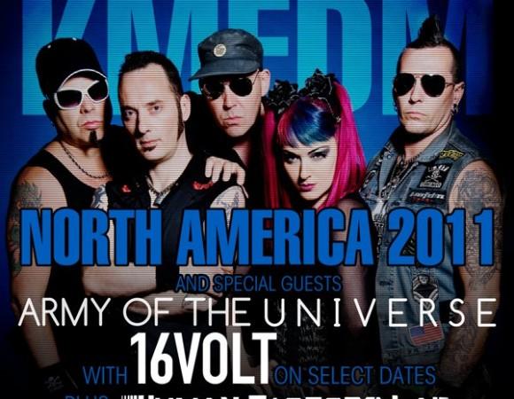16Volt Announces Summer Tour Dates With KMFDM