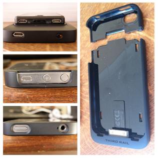 iPhone in Third Rail