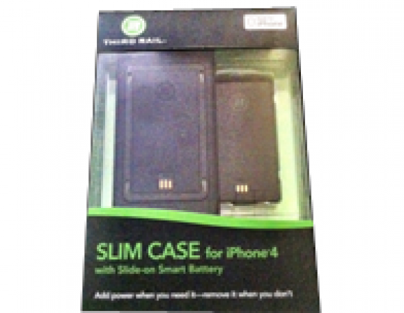 Third Rail Battery Case System For iPhone 4 and 4S