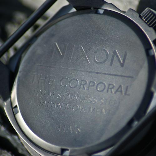 Nixon Corporal Rear Detail