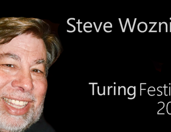 Steve Wozniak at Turing Festival