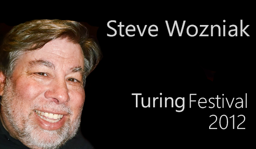 Steve Wozniak At The Turing Festival 2012