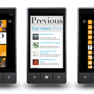 We Launch Our Windows Phone App 1