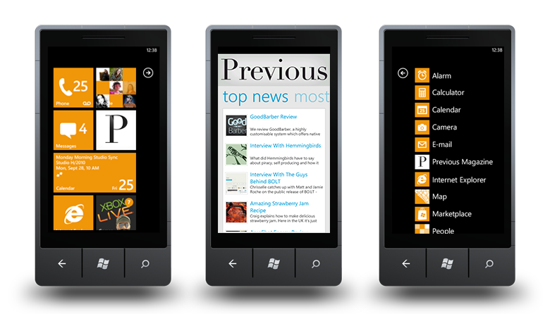 We Launch Our Windows Phone App