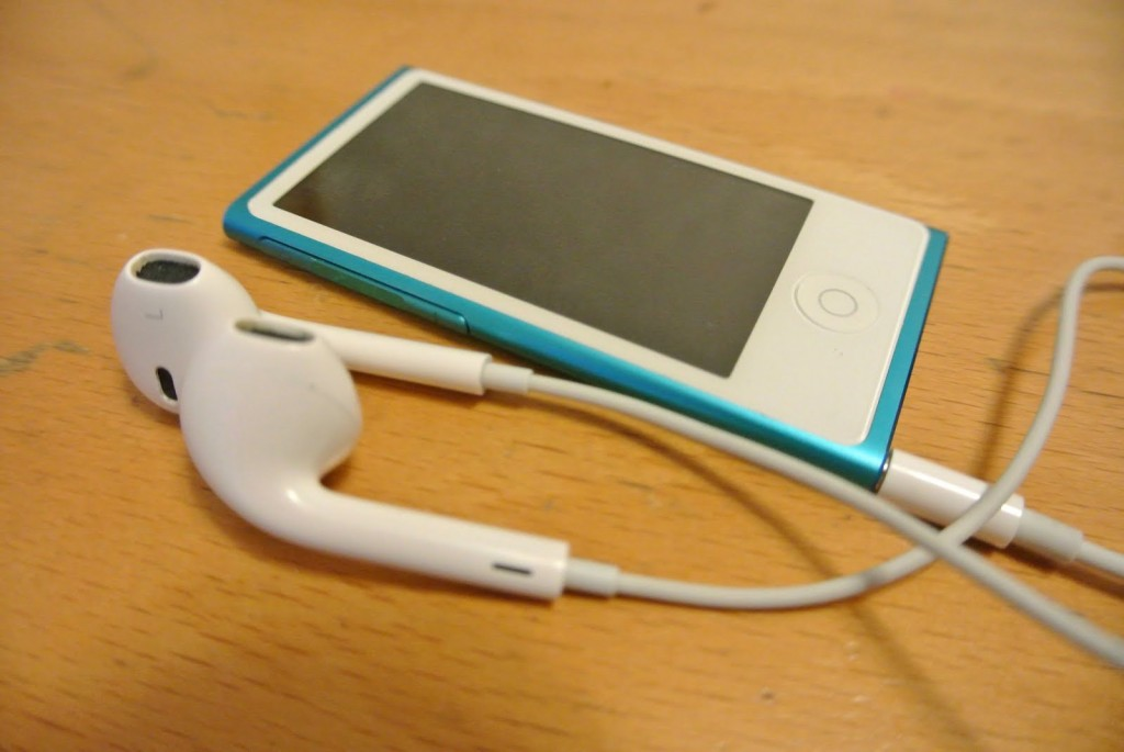 7th Generation iPod Nano with EarPods Connected
