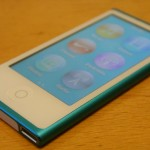 7th Generation iPod Nano with Screen Lit Up