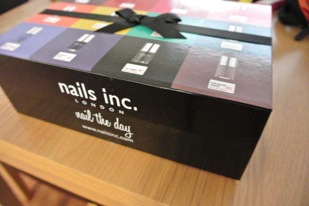 Nails Inc. 75 Offer Gift Box Packaging