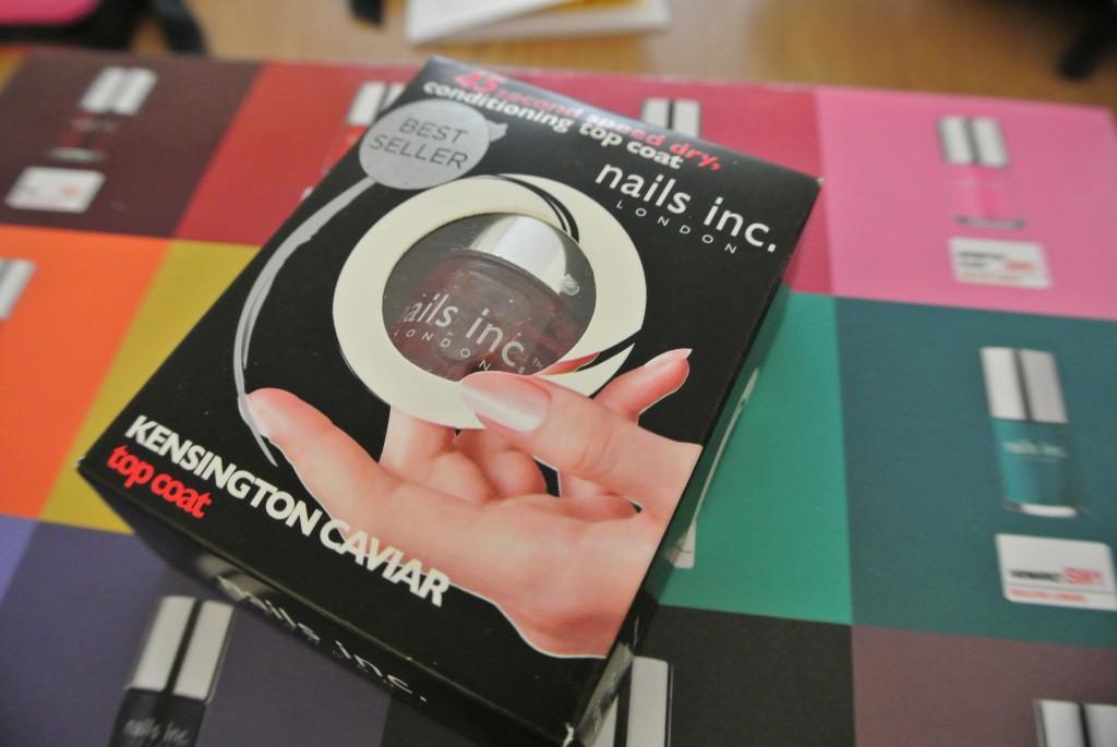 Nails Inc. Kensington Caviar 45 Second Speed Dry Top Coat