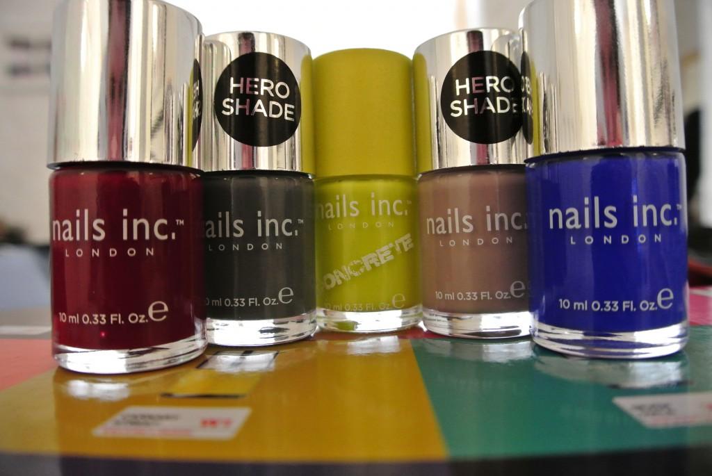 The Nails Inc. Colour Nail Polishes