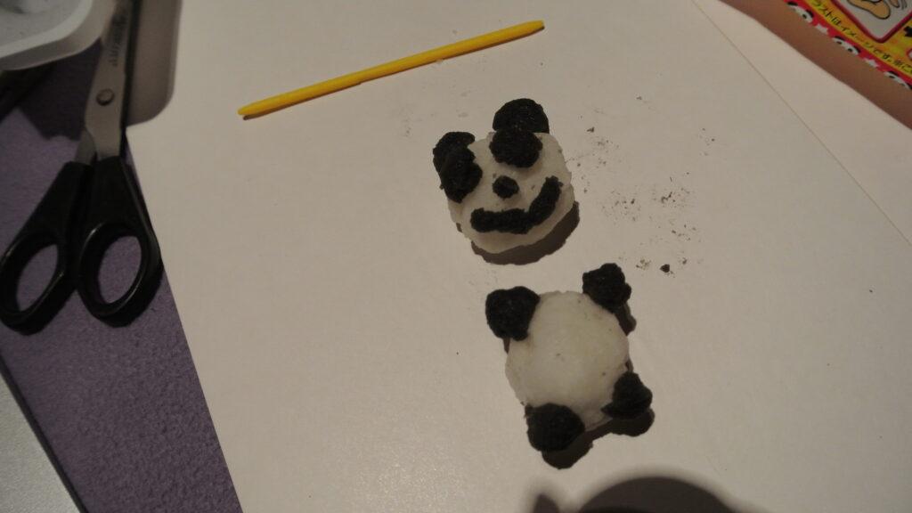 Kracie Popin' Cookin' Marumete Pandango - Assembling The Panda