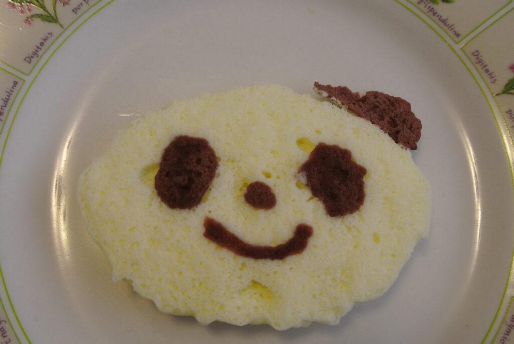 Kracie Popin' Cookin' Oekaki Panda Yaki - Finished Pancake