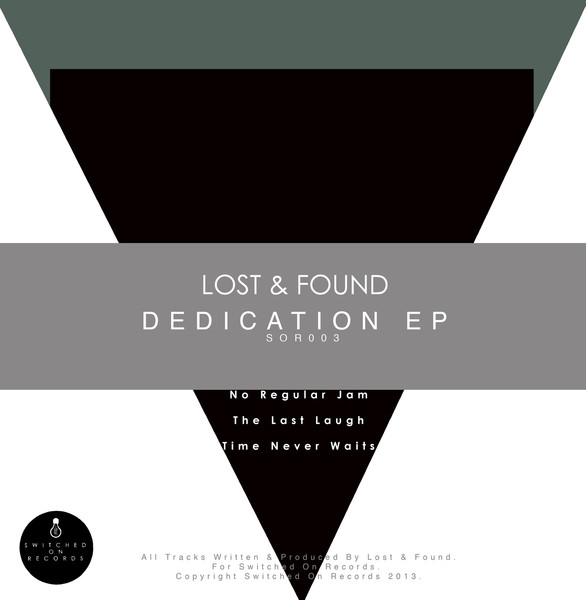 Lost & Found - Dedication EP Artwork