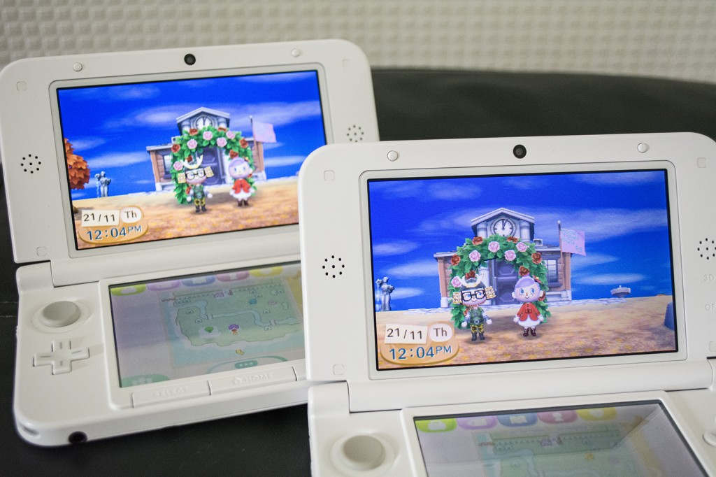 Animal Crossing: New Leaf Running On 3DS XL With Hammy Havoc and Helen-Ann Duff