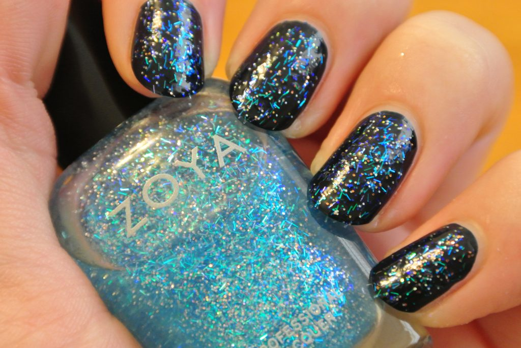 Mosheen by ZOYA over Incognito In Sausalito by OPI