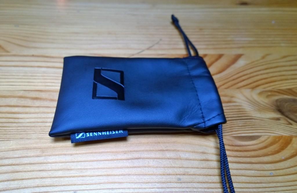 Sennheiser MX 375 In-Ear Headphones Drawstring Bag