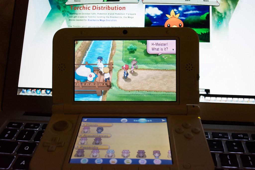 Snorlax Blocking The Bridge In Pokémon Y