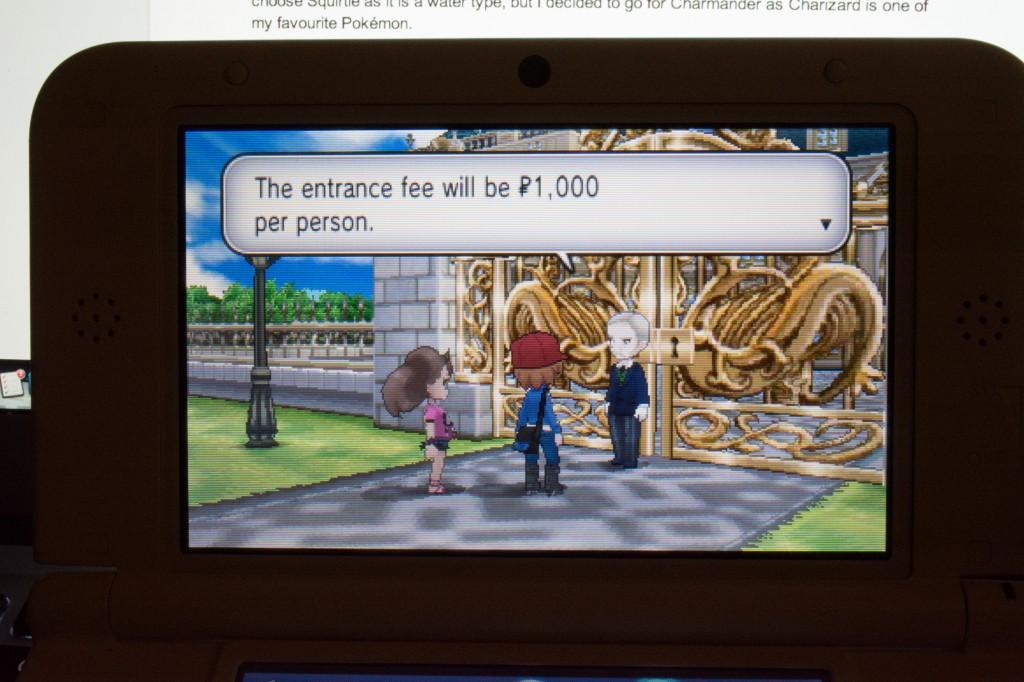Hammy Playing Pokémon Y