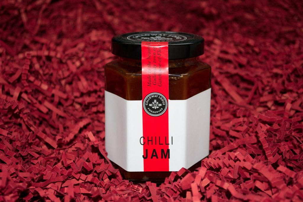 Jar of Galloway Lodge Preserves Chilli Jam
