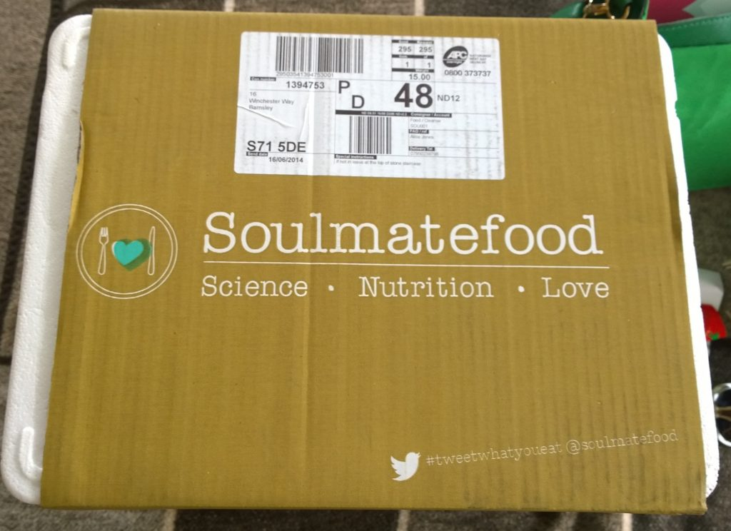 Soulmatefood 5-Day Perfect Juice Diet Review Packaging