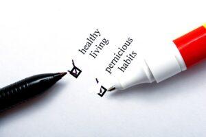 Write the Bad Habits Down
