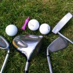 Golf Irons & Balls