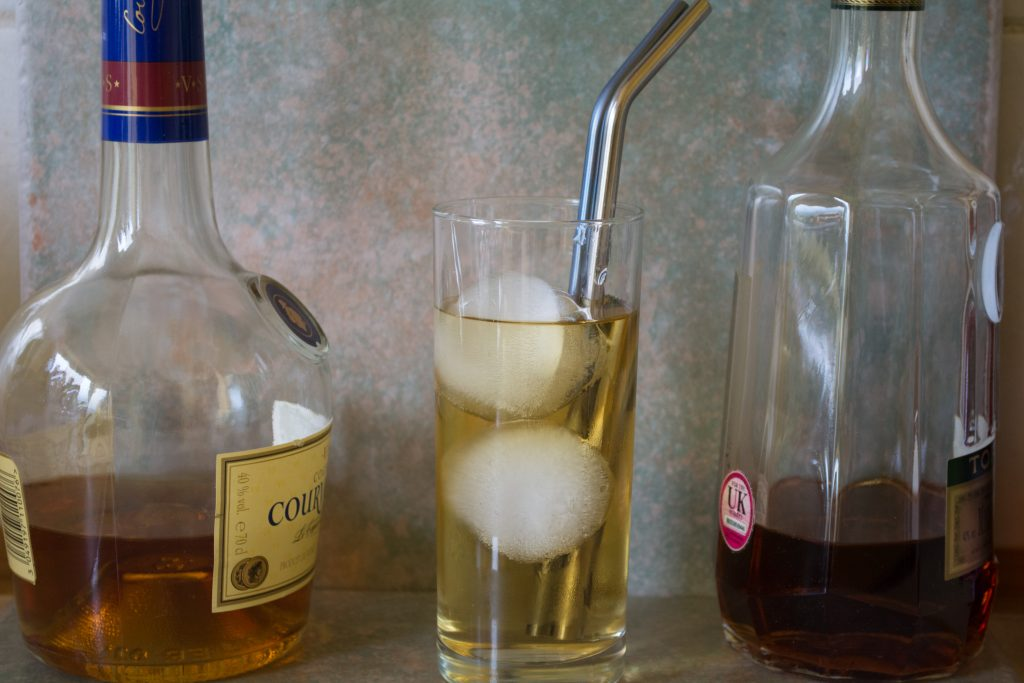 Bar Brat Ice Ball Maker Cocktail with Spirits