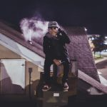 Vaping on Rooftop