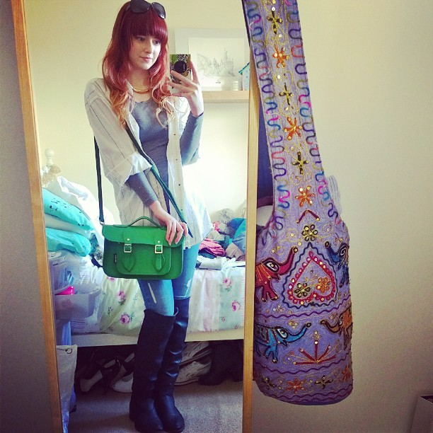 Alice Jones Mirror Selfie
