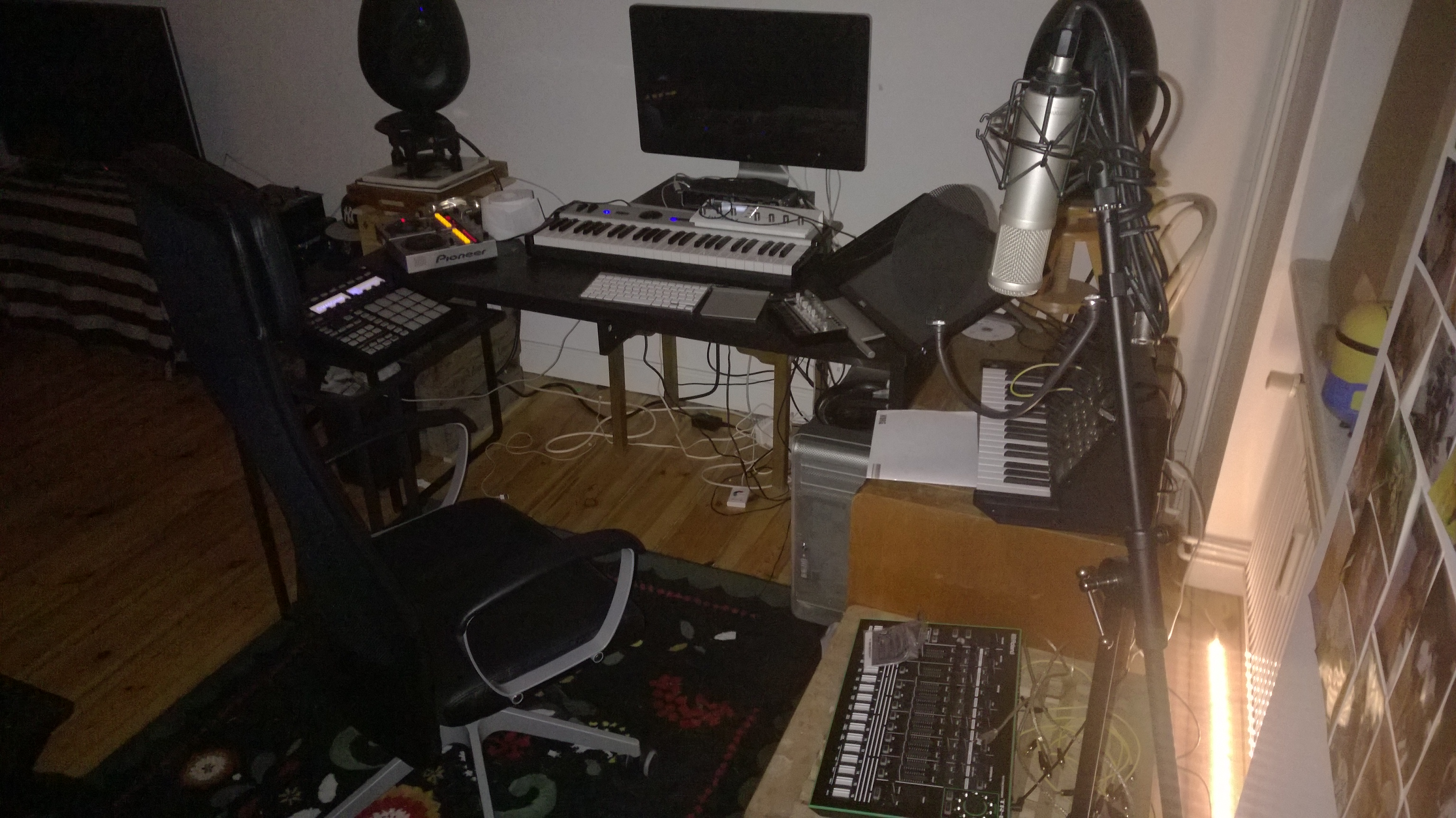 Lost & Found's Home Music Studio in Berlin
