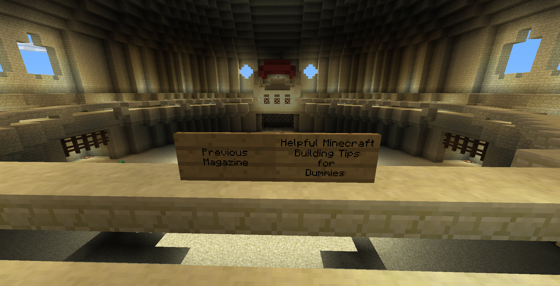 Helpful Minecraft Building Tips for Dummies 1