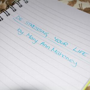 De-Stressing Your Life 3
