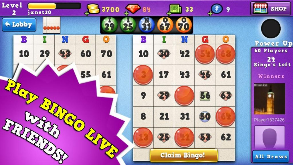 Bingo Run Screenshot