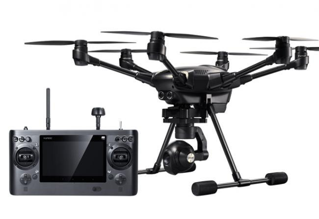 Yuneec Typhoon H Advanced - Hexacopter with GCO3+ 4K Camera