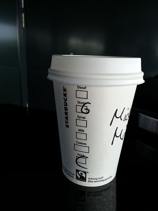 Starbucks Cup with Name On