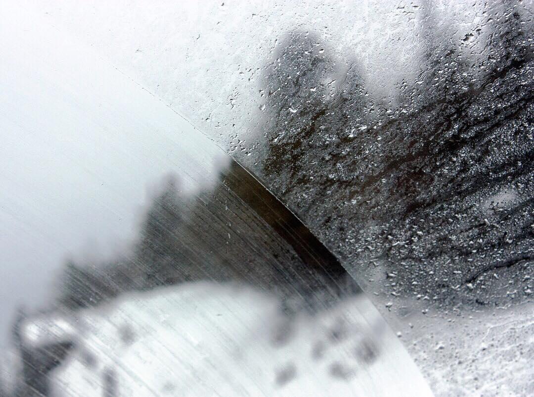 Raindrops on Windshield