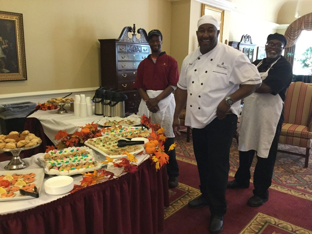 Chef Sal at Riddle Village Retirement Community