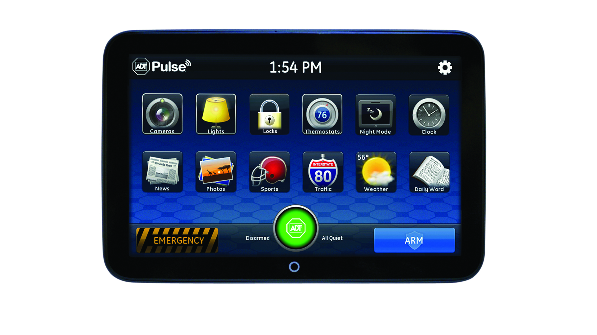 ADT Pulse Touchscreen