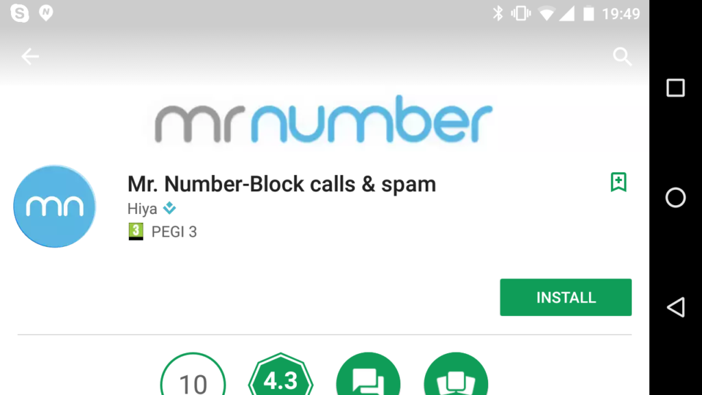 Mr. Number Android App