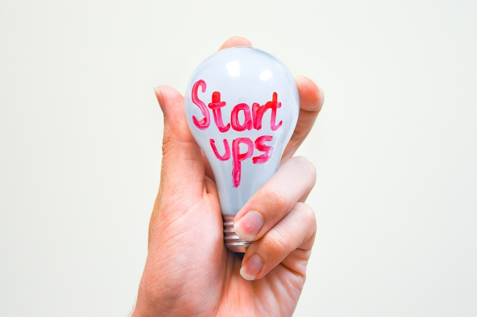 Startups lightbulb