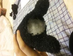 How to Make a Halloween Cat Plush Toy 15
