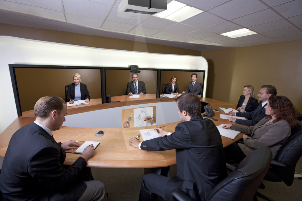 Telepresence with light