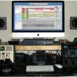 iMac based home recording studio