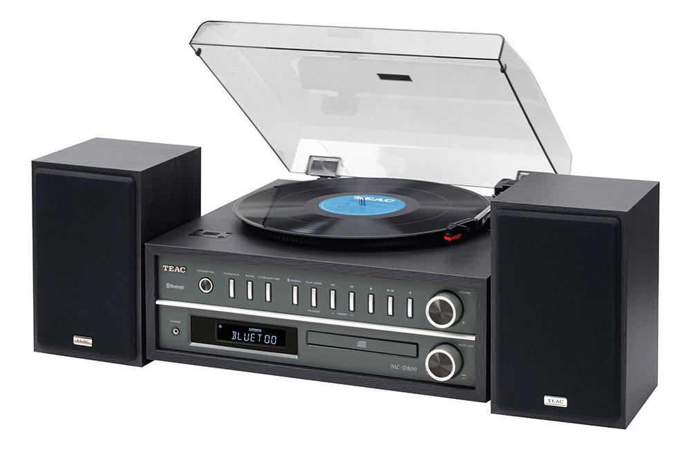 Teac all-in-one vinyl turntable