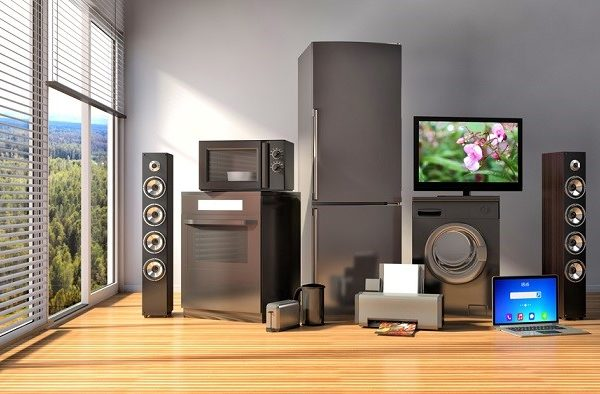 CG 3D Mockup of Home Appliances