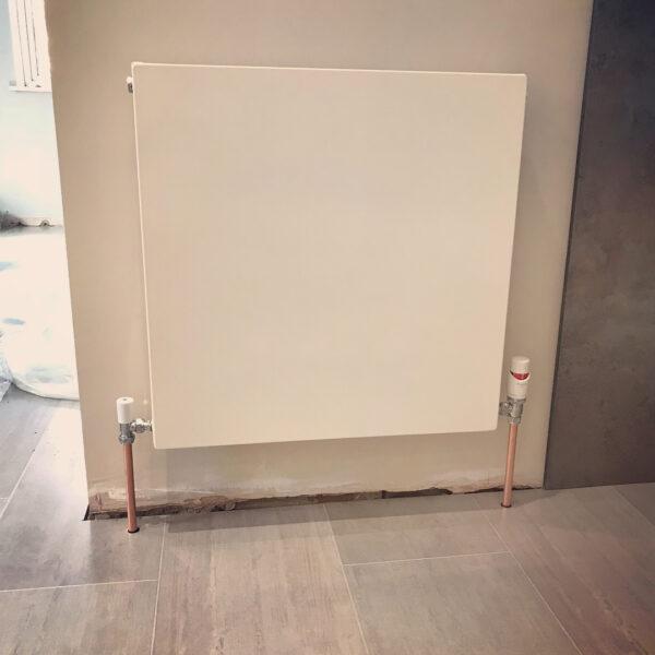 Flat panel radiator