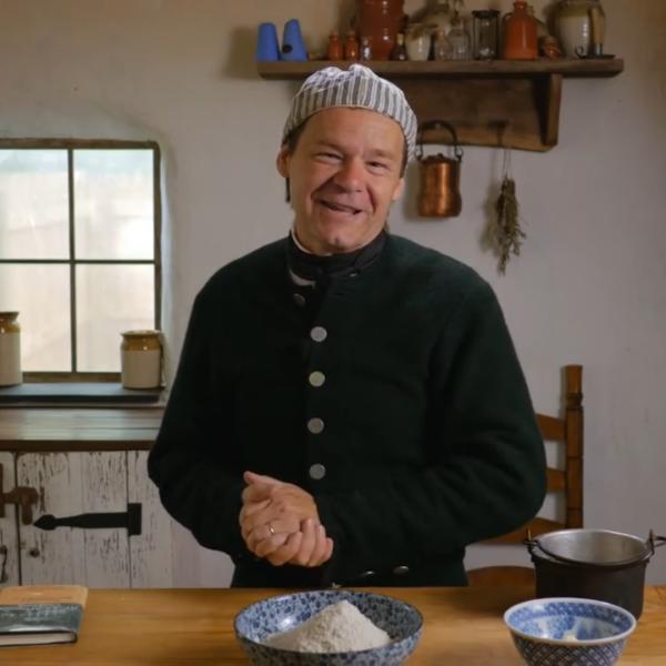 Jon Townsend in kitchen
