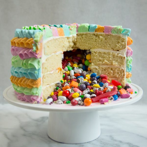 Candy Filled Cake