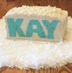 Surprise Name Cake