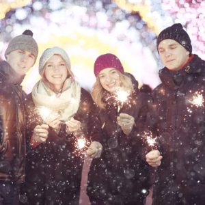 The Cold Collective - How to Throw an Outdoor Party in Winter