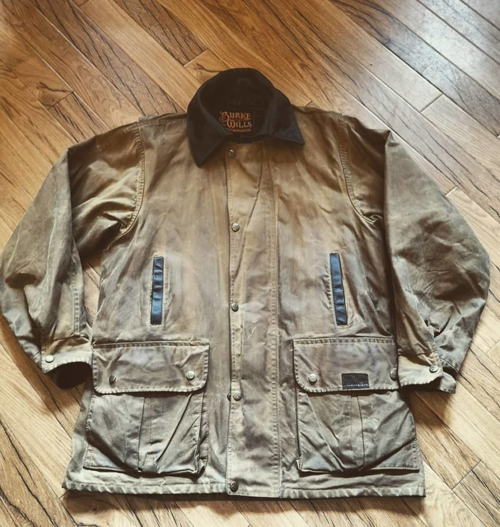 Burke & Wills Australian Outback Heavy-duty Waxed Jacket
